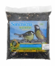 Black suflower seeds for birds 1kg